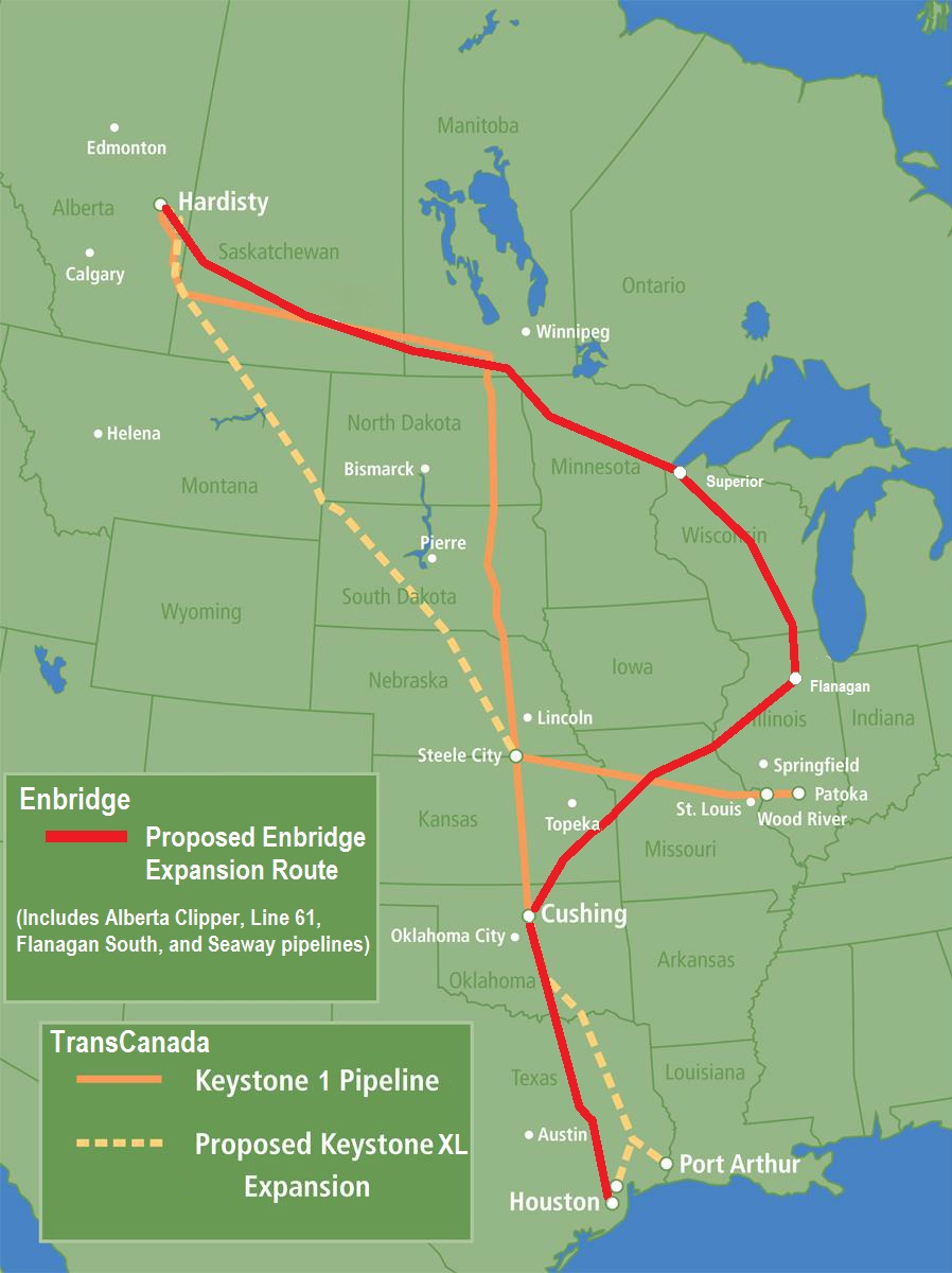 Maps And Mapping Resources Great Plains Tar Sands Resistance - Map us expansion