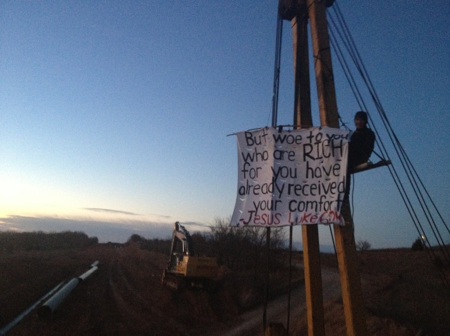 Lifelong Oklahoman and Youth Pastor, suspended and locked to KXL Equipment!